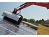 Щётка Manta Solar для чистки солнечных батарей