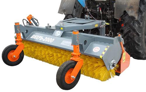 Щетки для трактора, коммунальные щетки купить в ООО.