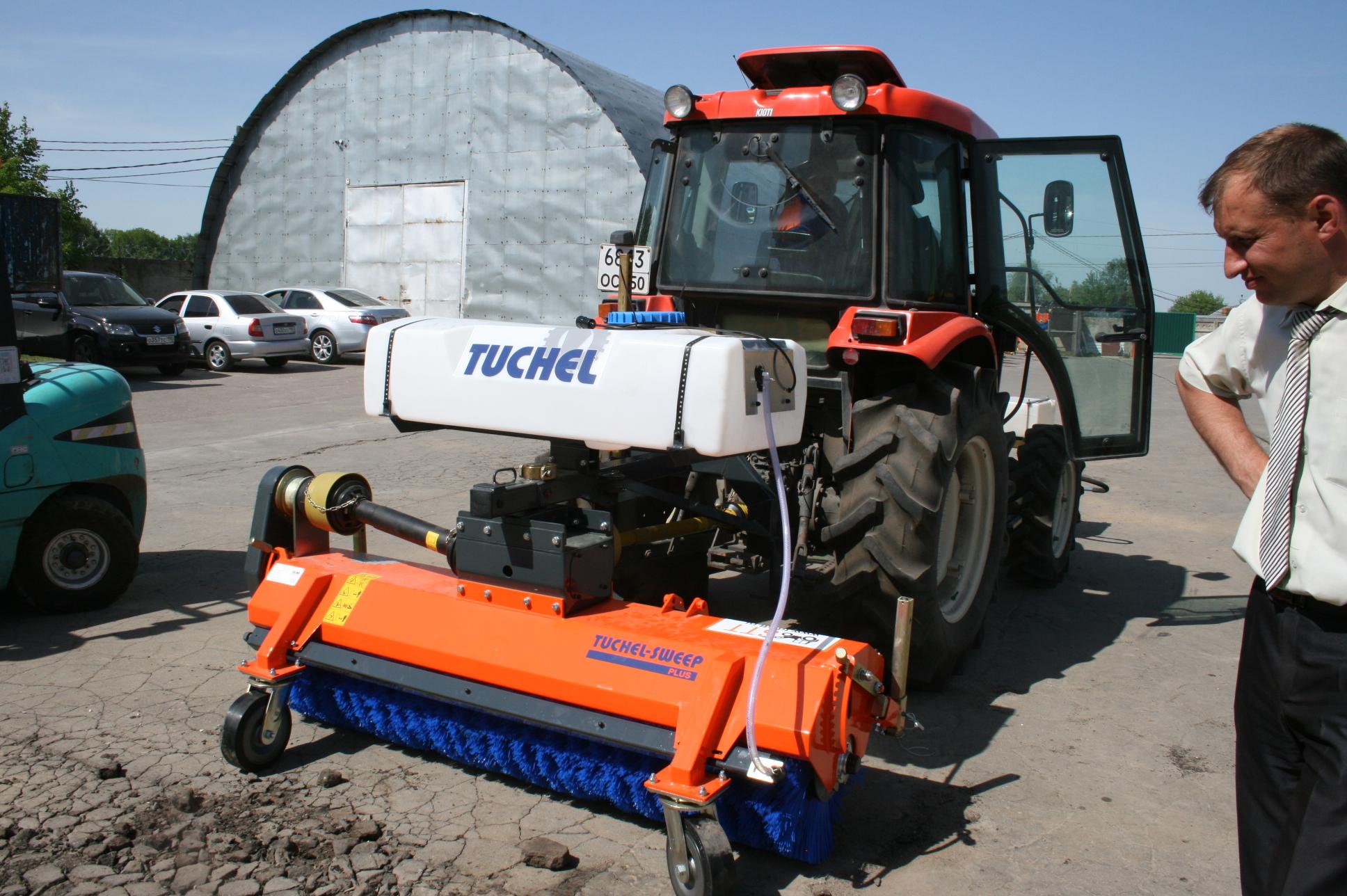 Щетка Ковако | Навесное щеточное оборудование к трактору.