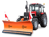 Отвал для уборки снега Hauer HSh 2800 на трактор МТЗ