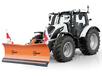 Отвал для уборки снега Hauer HSh 2800 на трактор VALTRA
