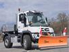 Отвал для уборки снега Hauer HSh 2800 на трактор трактор Unimog